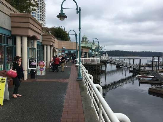 Nanaimo waterfront promenade