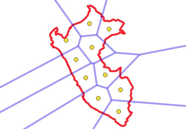 Voronoi of Centrois